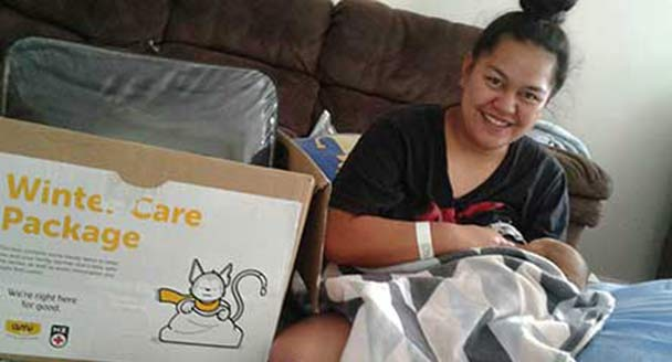 Care packages keeping whānau warm this winter