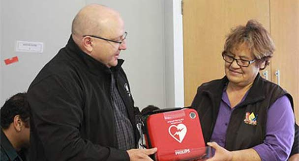 New AED to save people in the South